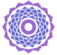 Lotusblume als Chakra Symbol