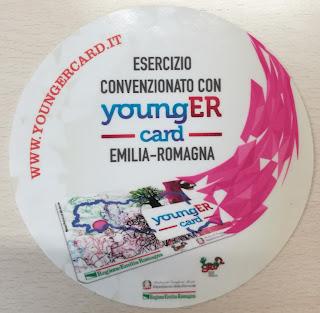 convenzione con la tessera per i giovani dell'Emilia-Romagna ricevo a Parma