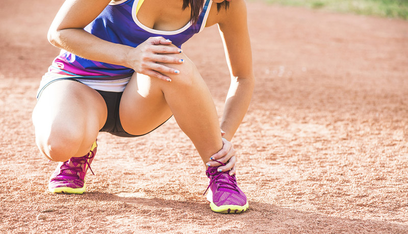 Esguince de tobillo, lesiones del running