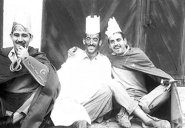"""Ricardo, Jaime y este narrador: """"Los Reyes Magos"""" del Grupo Mixto."""