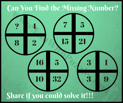 Mind bending math cross circle puzzle question