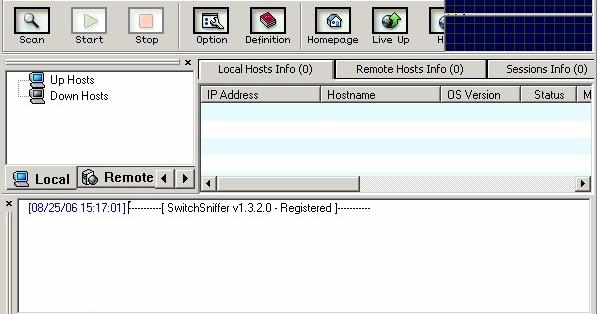 تحميل برنامج سحب سرعة النت من الروتر Download Switchsniffer