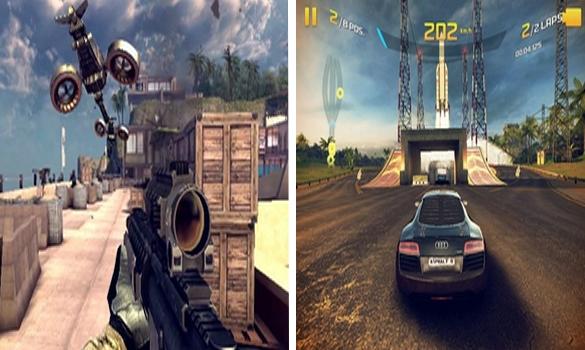 لعبة Modern Combat 4 بحجم 3 ميجا