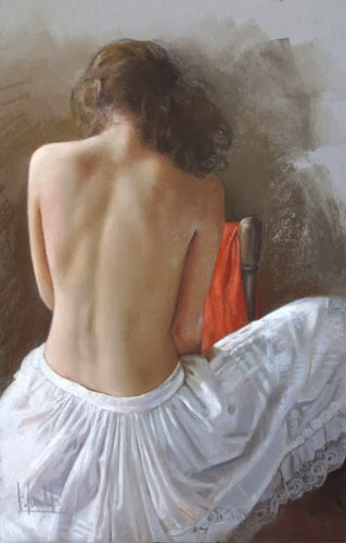 Figurative Paintings by Luis de la Fuente | Ladies