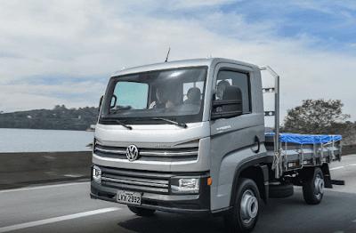 Esse caminhão da VW usa peças de Gol e pode ser guiado com CNH de carro