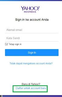 Cara Daftar Akun Ymail Di Yahoo Mail Indonesia