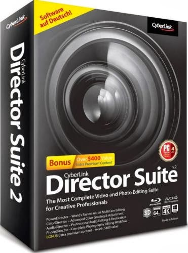 Cover Caratula Cyberlink Director Suite 2