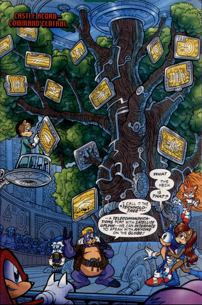 Read online Sonic The Hedgehog comic -  Issue #130 - 22