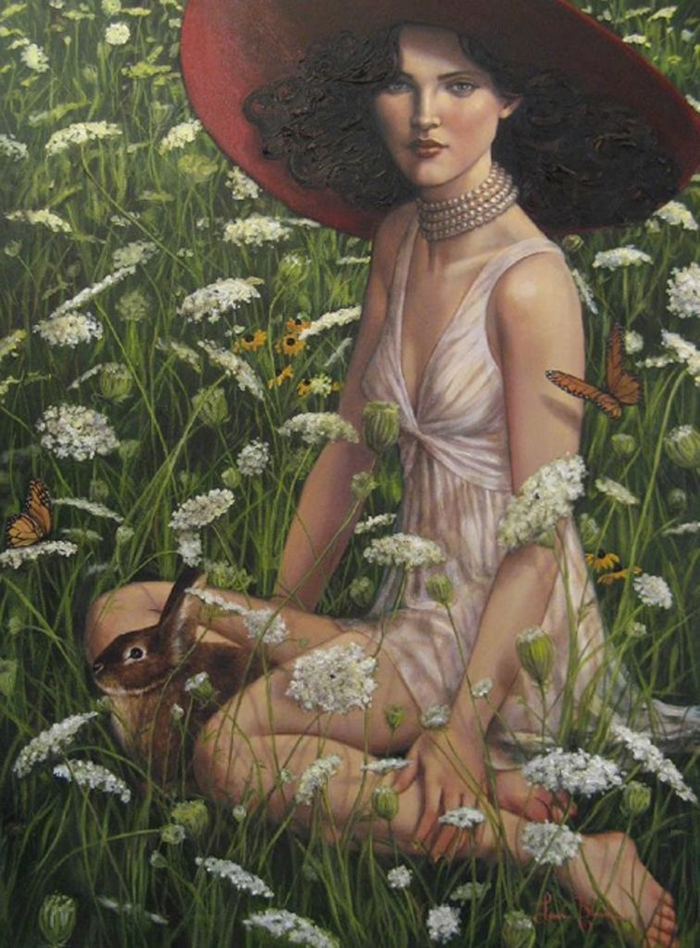 Lauri Blank | American Romantic Figuritism painter