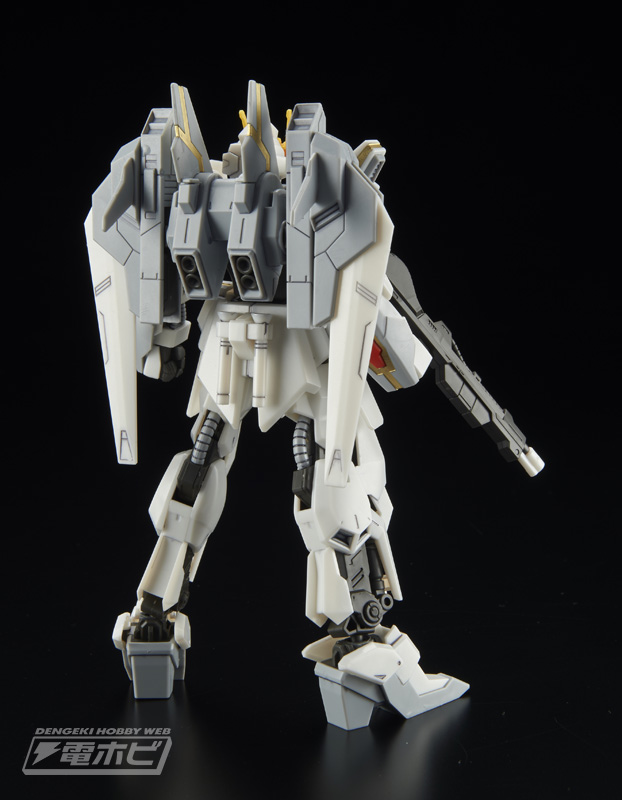 HGBF 1/144 Lunagazer Gundam Sample Images by Dengeki Hobby