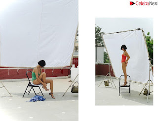 Merrylin Boro in green and red swimsuit  ~ .xyz Exclusive Celebrity Pics 005.jpg