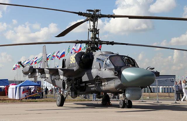 Gambar 19. Foto Helikopter Tempur Kamov Ka-52 Alligator