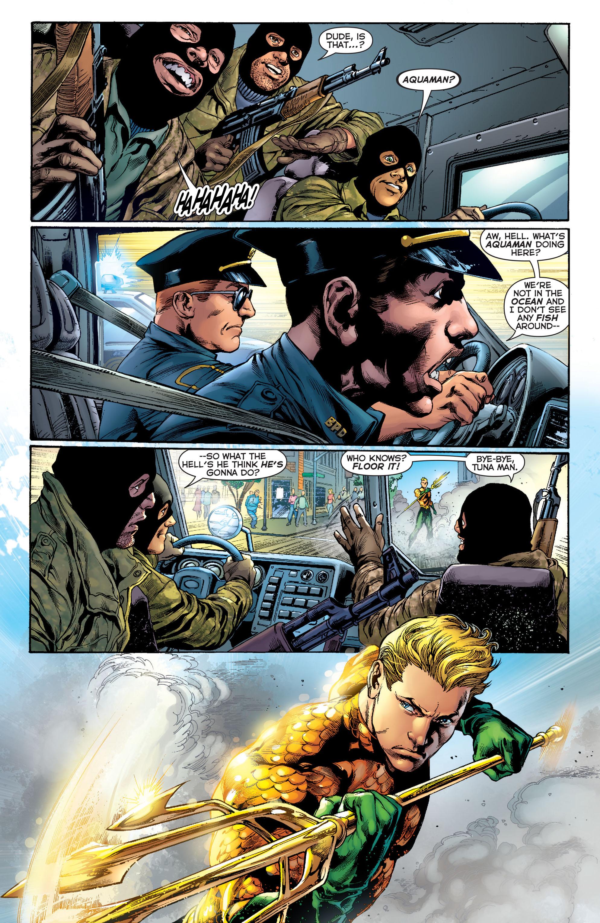 Read online Aquaman (2011) comic -  Issue #1 - 7