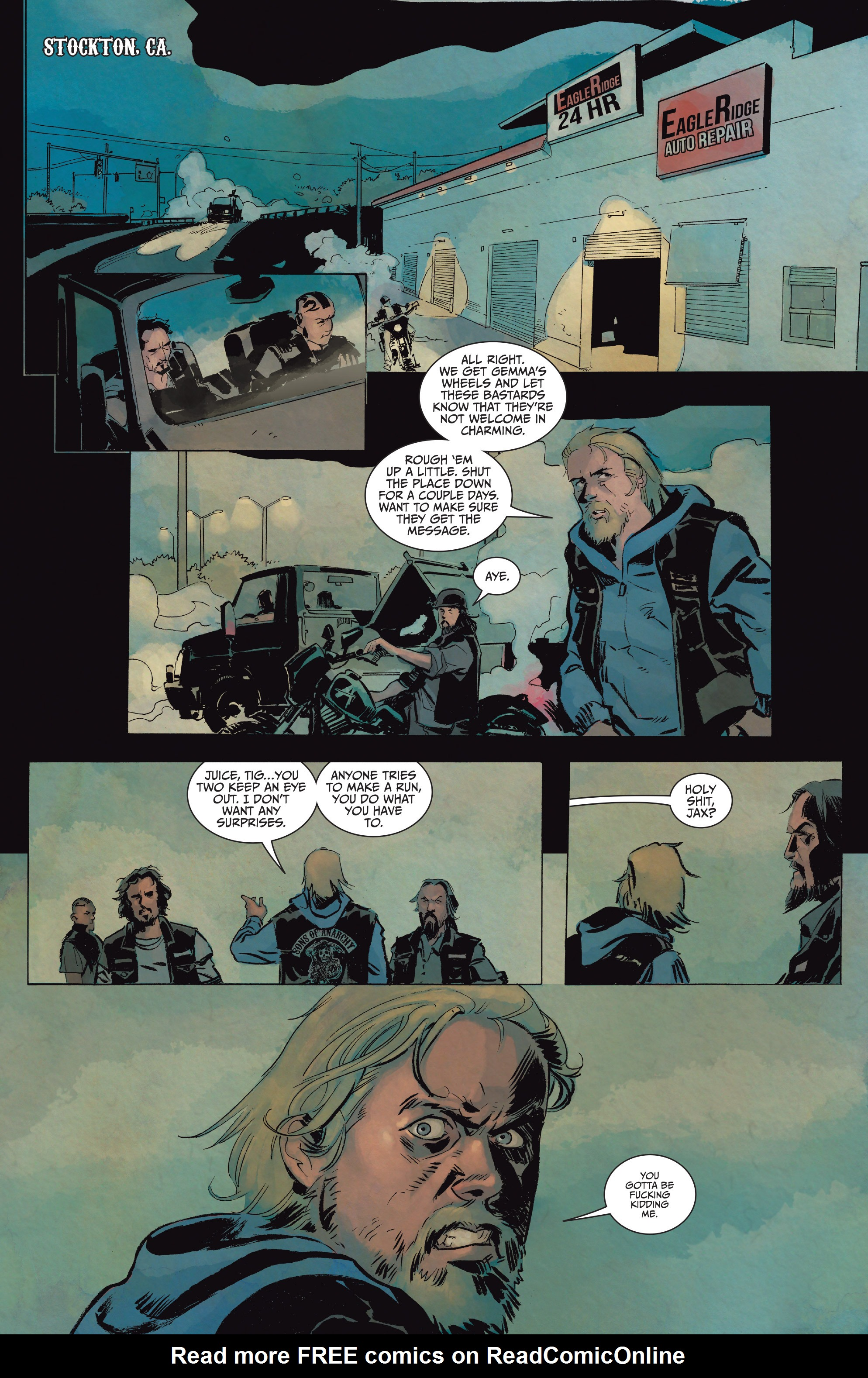Read online Sons of Anarchy comic -  Issue #15 - 7