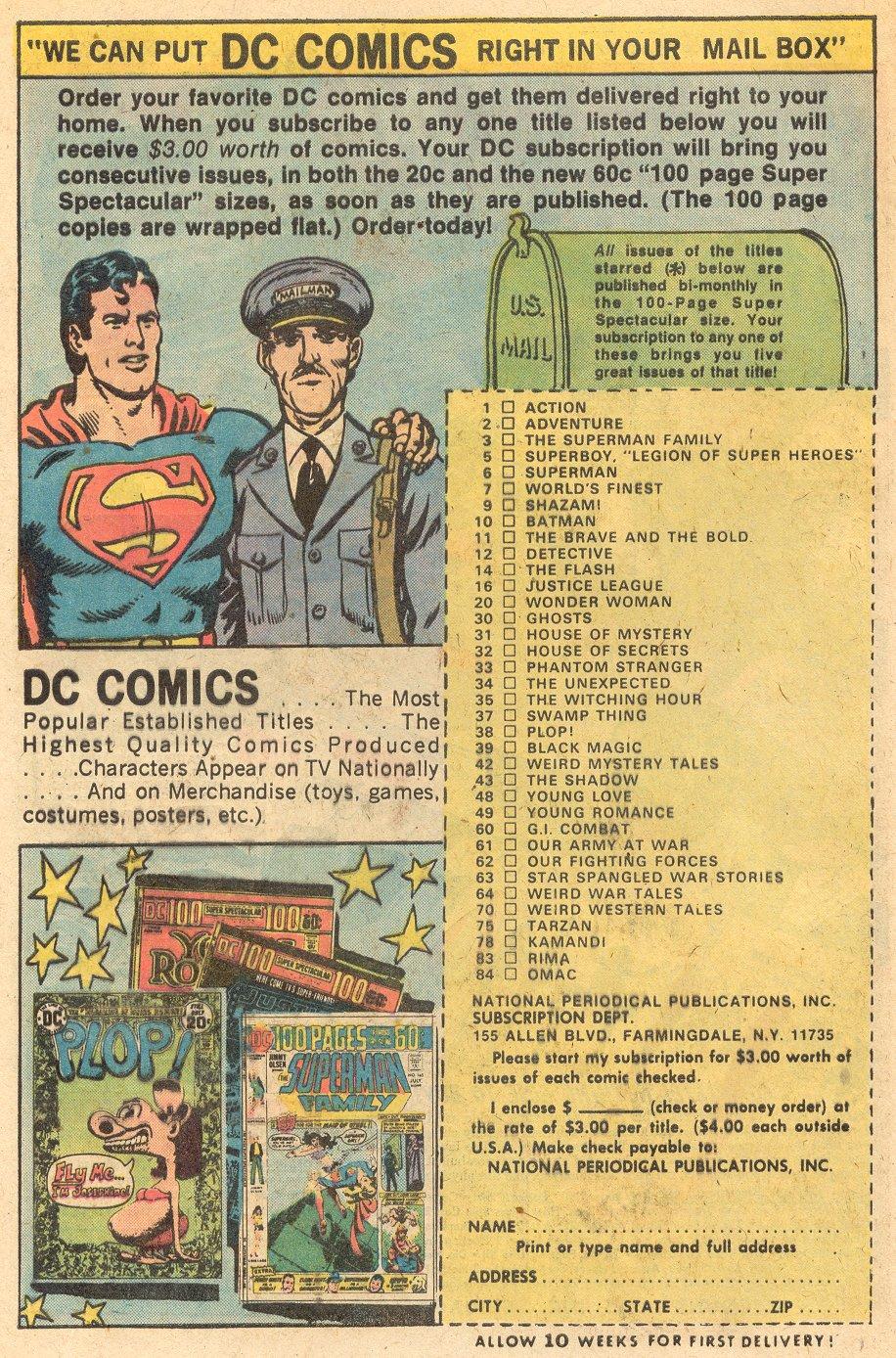 Read online Adventure Comics (1938) comic -  Issue #434 - 6