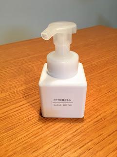 無印良品PET詰め替えボトル泡タイプ