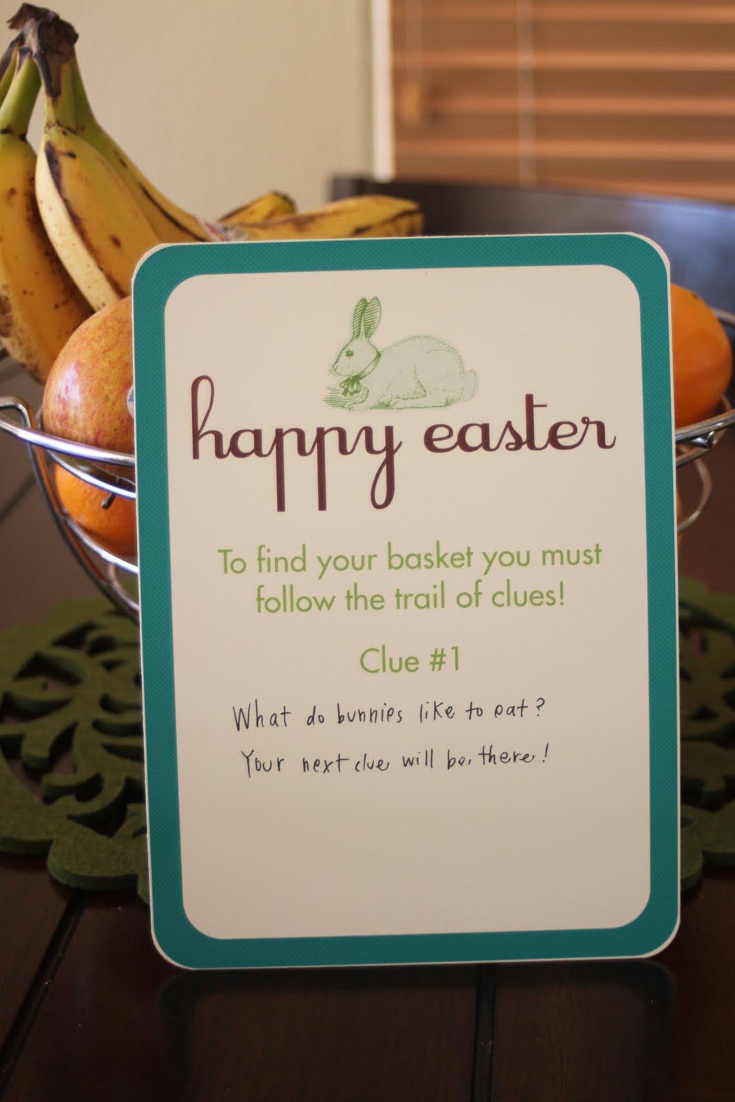 Embellish Free Printables Easter Basket Scavenger Hunt