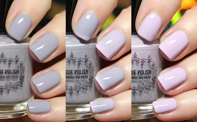 My Indie Polish With Rain Comes Flowers Thermal Nail Polish