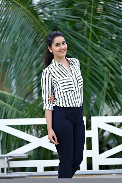 Raashi Khanna hyper Interview Photos