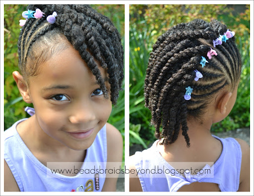 Back To School Styles For Your Curly Daughter Natural Hair