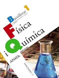 Libro Física y Química 1º Bachillerato Anaya