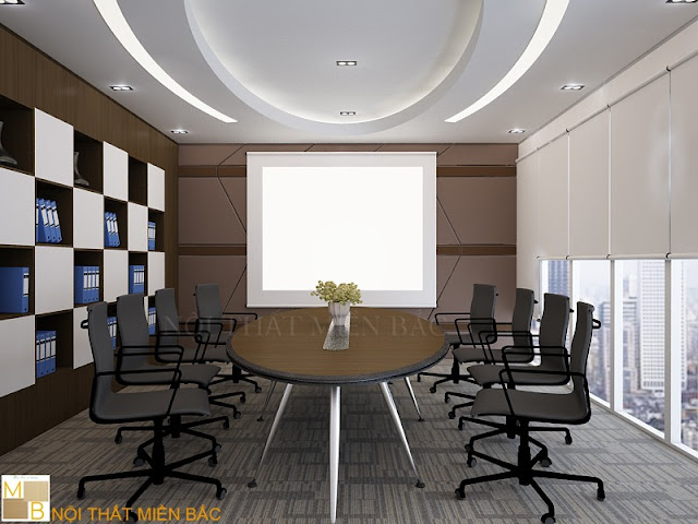 Với đường nét mềm mại thiết kế bàn veneer phòng họp này luôn mang đến sự tinh tế và cuốn hút nhất cho không gian