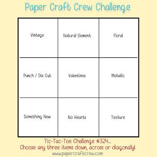Paper Craft Crew Tic Tac Toe Challenge #PCC324