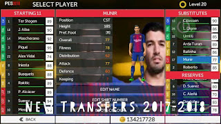 FTS Mod PES 2018 v2 by Dava Android