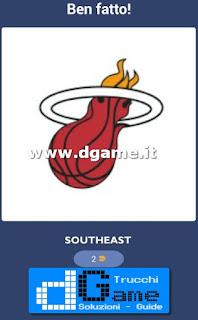 Soluzioni NBA Team Quiz livello 49