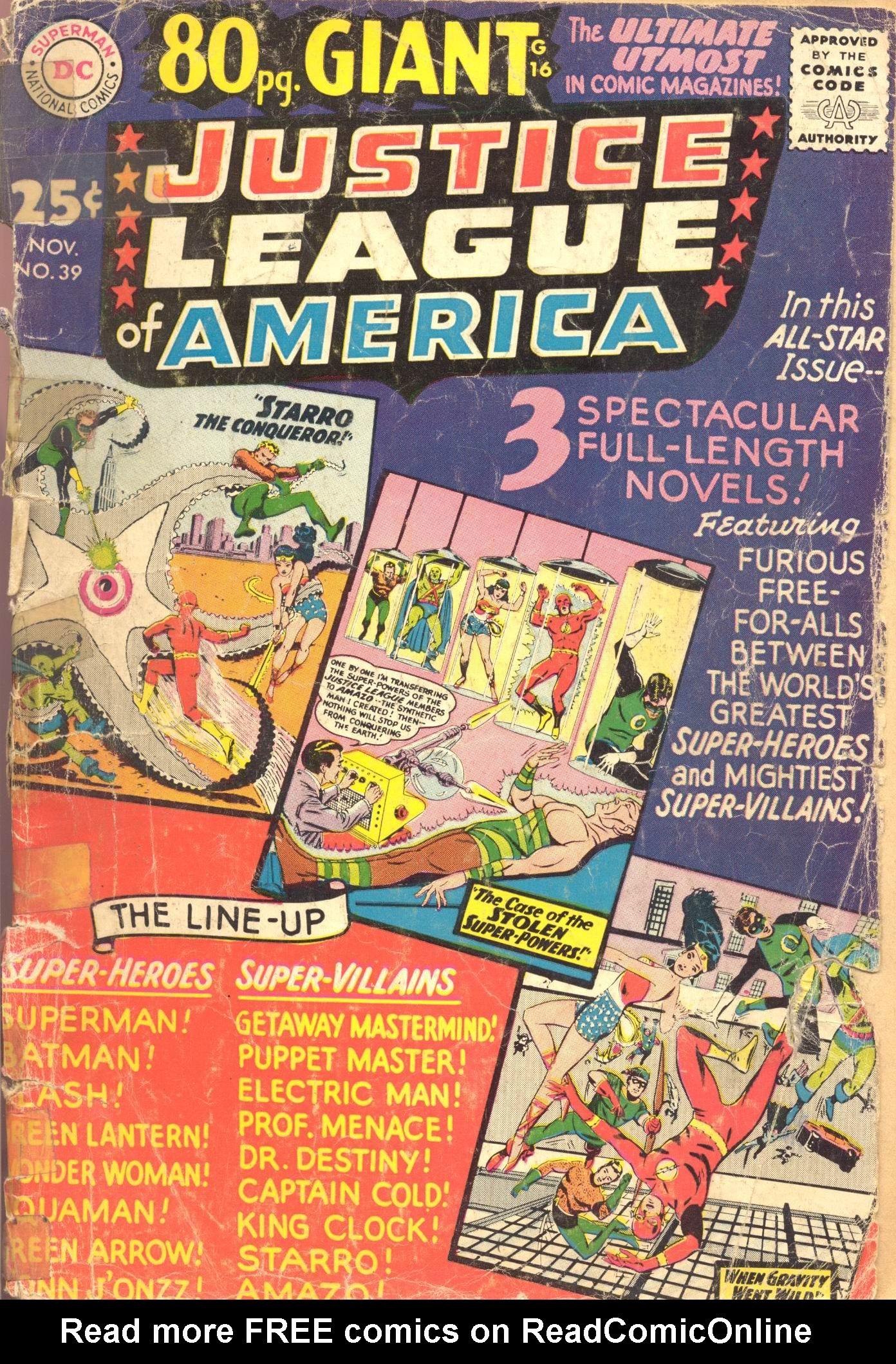 Justice League of America (1960) 39 Page 1