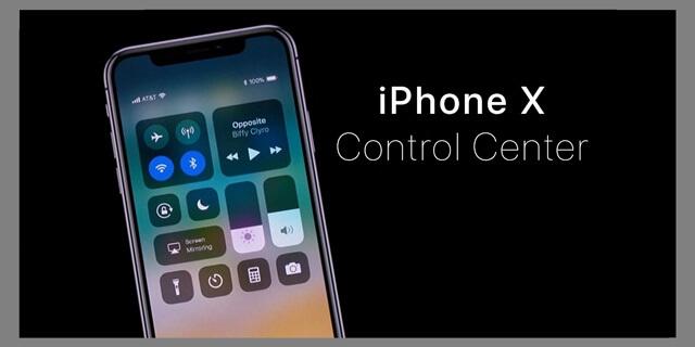 كيفية ايجاد واستخدام الاشعارات ومركز التحكم في ايفون X