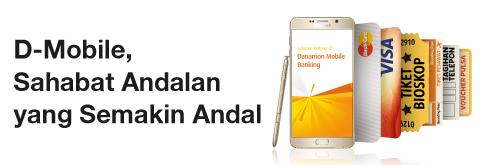 D-Mobile: mobile banking yang memberikan banyak Kelebihan