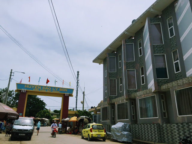 Cổng chào đảo Lý Sơn