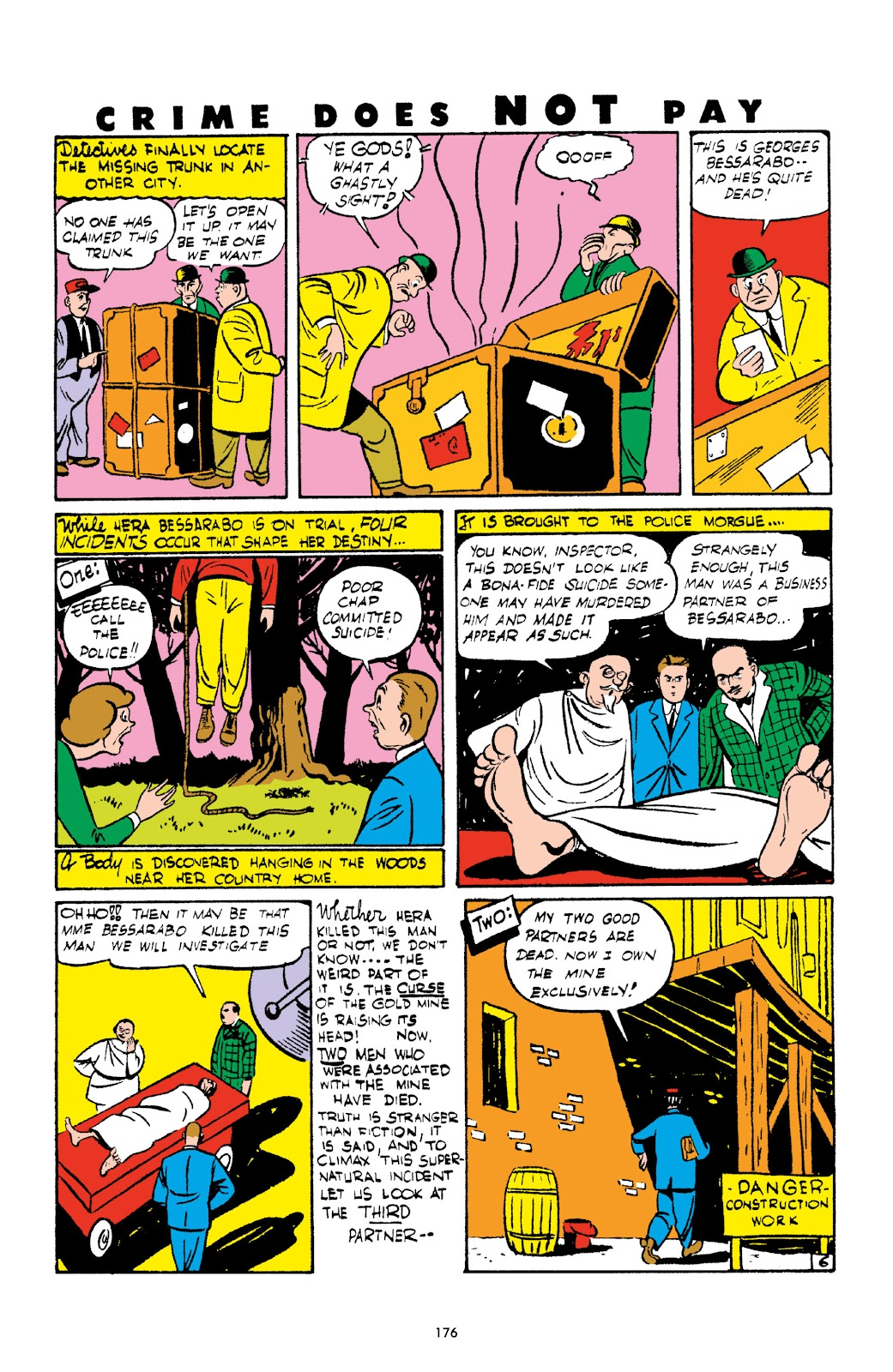 Read online Crime Does Not Pay Archives comic -  Issue # TPB 2 (Part 2) - 76