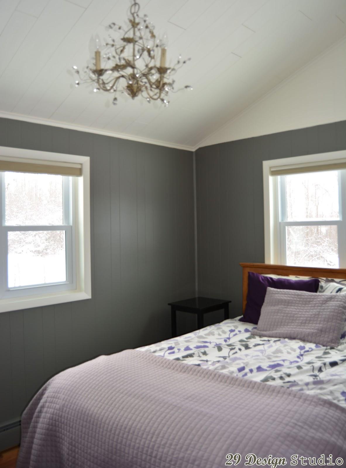 Purple Tufted Chair Room Decor