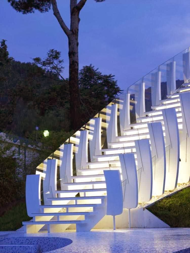 exterior design of stairs