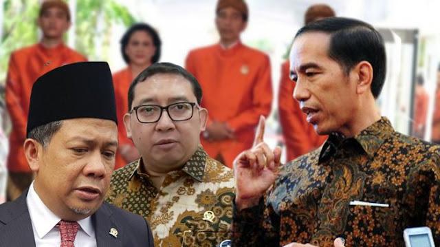 Fahri Hamzah: 'Saya juga Gak suka gara2 Jokowi nampak terlalu lemah'