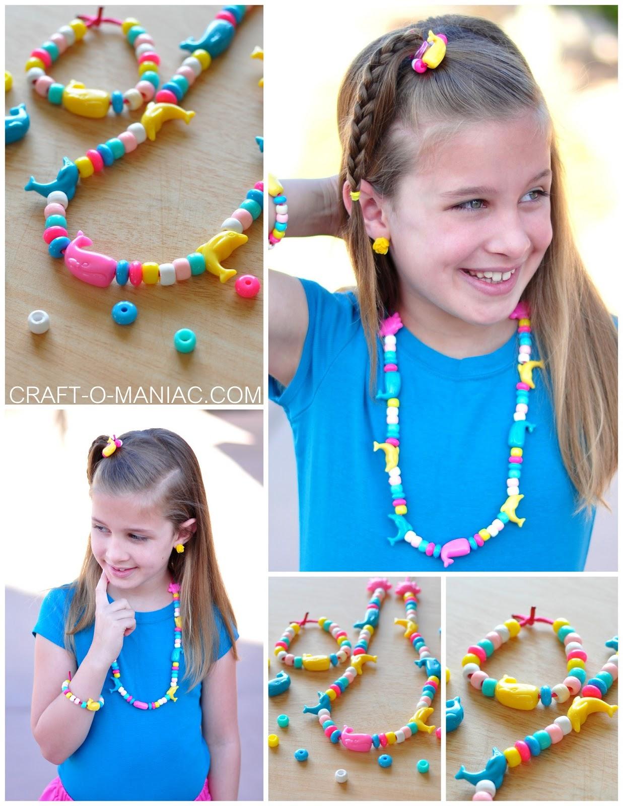 Joann S Summer Of Kids Craft Beaded Jewelry Craft O Maniac