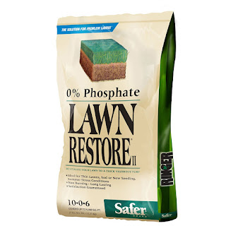 Lawn restore fertilizer -A green lawn is a healthy lawn, and a healthy lawn is a product of a thriving ecosystem within your soil.