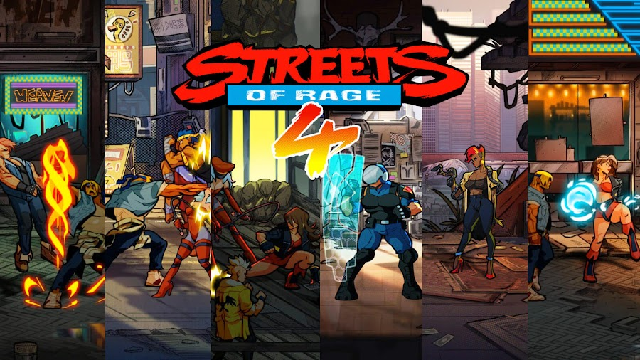 streets of rage 4 screenshots lizardcube dotemu