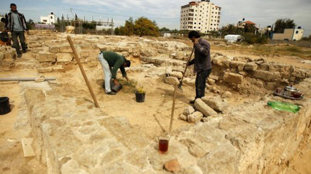 Near East: Lack of funds threatens Gaza's oldest monastery