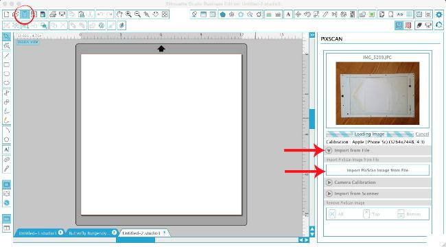 silhouette studio pixscan tutorial beginners silhouette cameo templates