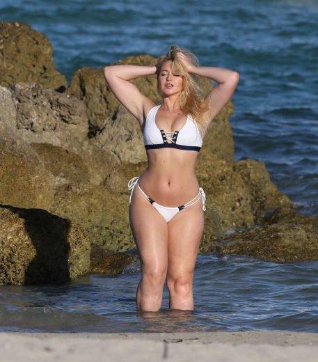 Iskra Lawrence Bikini Photoshoot in Miami
