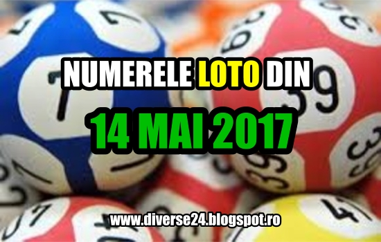 Numerele extrase la tragerile loto din 14 mai 2017