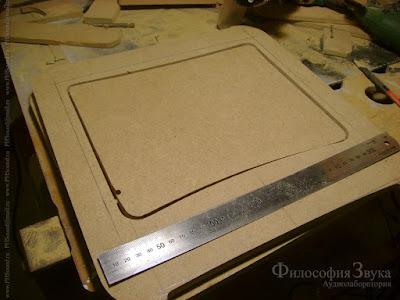Изготовление верхней крышки корпуса гибридного усилителя