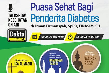 Puasa Sehat Bagi Penderita Diabetes
