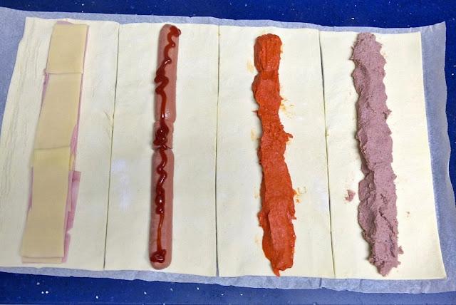 como hacer saladitos variados caseros