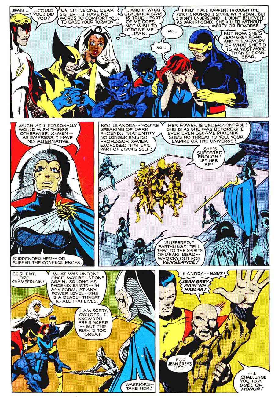 X-men v1 #137 marvel comic book page art by John Byrne