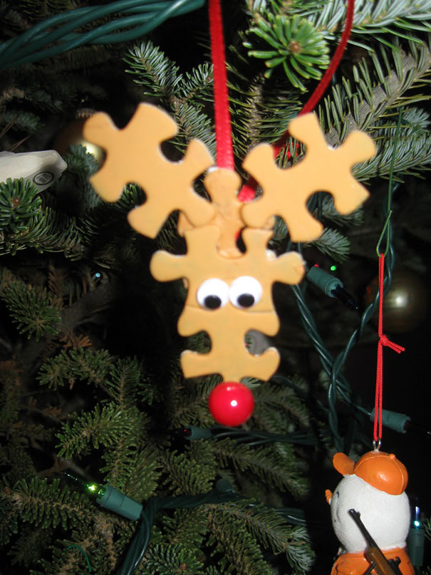 A very Puzzling Rudolph