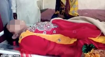 Pakistan:Umugeni yanizwe ku munsi w'ubukwe nyuma yo gusangwa atari isug